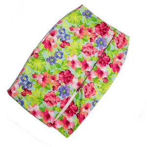 🔴ABSOLUTE ANGEL floral design pencil skirt